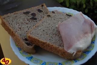 Pohankový chléb s ořechy recept